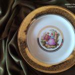 Aντίκα Tirschenreuth - Γερμανικό ζωγραφιστό πιάτο