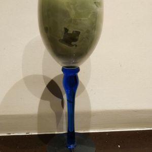 Χειροποιητο κερι σε ποτηρι