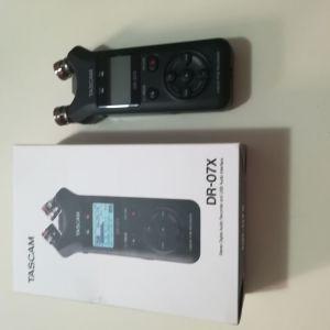Συσκευή εγγραφής ήχου Tascam DR-07X