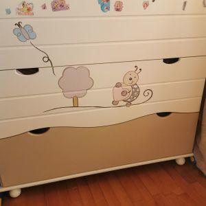 Παιδική συρταριέρα από Λητώ