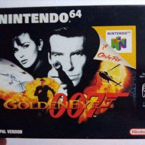 Goldeneye 007 (First Edition) [Nintendo 64]
