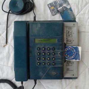 τηλεφωνο σταθερο με καρτα