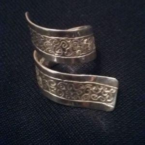 Δαχτυλίδι ασημί 925 χειροποίητο