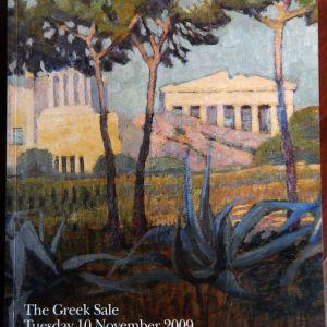 Bonhams- The Greek Sale -10/11/2009 (συλλεκτικός κατάλογος και πρόσκληση)