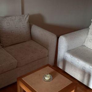 Διθέσιος καναπές και πολυθρόνα