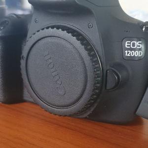 Canon eos 1200d+ Φακός 55-250 canon+ τσάντα ταξιδιού+ κάρτα μνήμης 64gb