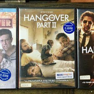 DvD - The Hangover 1 + 2 + 3