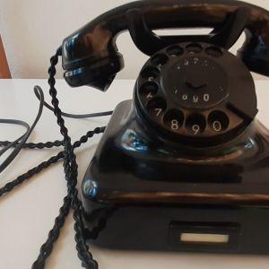 τηλέφωνο μαύρο vintage