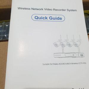 Καμερες Hiseeu WNKIT-4HB312 8CH 1080P Wireless CCTV Security System