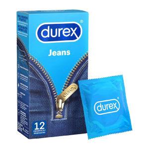 Durex Jeans 10 x 12 = 120 Τεμάχια Προφυλακτικά ΣΟΎΕΡ ΤΙΜΗ