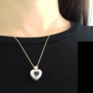 Κολιε ασημι 925 kαρδια