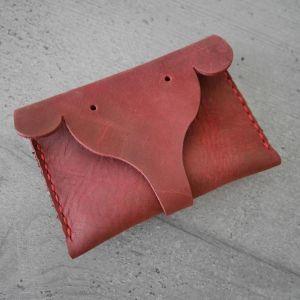 Δερμάτινο πορτοφόλι ''ελεφαντάκι'' χειροποίητο