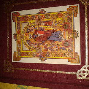 The book of Kells Text compiled by Ben Mackworth-Pread