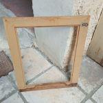 Κορνίζα ξύλινη