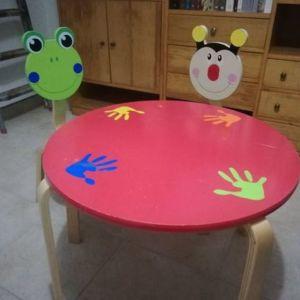 Παιδικό Σετ τραπέζι απασχόλησης / ψυχαγωγίας & 2 καρεκλάκια Ulysse