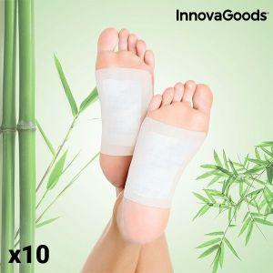 Έμπλαστρα Αποτοξίνωσης για τα Πόδια InnovaGoods (Πακέτο με 10)