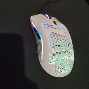 Glorious Model O Gaming Mouse Glossy White