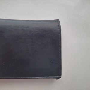 bosini δερμάτινο πορτοφόλι