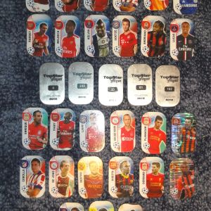 Μεταλλικές τάπες ποδοσφαίρου Topstar players