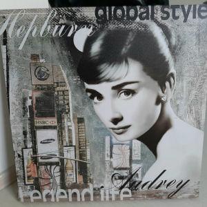 Audrey πίνακας