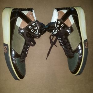 Dolce and Gabbana high top sneakers