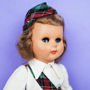Παλιά ιταλική κούκλα δεκαετίας του 1950 (flirting eyes) vintage