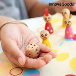 Ξύλινο Επιτραπέζιο Παιχνίδι με Ζώα Pake InnovaGoods 18 τεμάχια