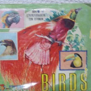 Συλλεκτικό άλμπουμ της panini   ΒIRDS  ( TA  ΠΟΥΛΙΑ  )