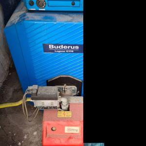Καυστήρας Buderus Logano G115 - Μικτός Πετρελαίου και Αερίου