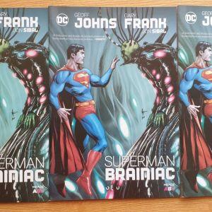 Superman - Brainiac (Τόμοι Α' + Β'+ Γ')