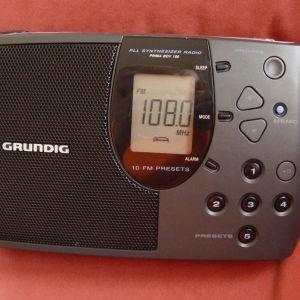 Grundig Radio-FM. Prima Boy 100. MADE IN ΓΕΡΜΑΝΙΑ.