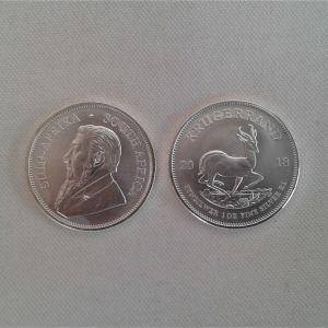 Krugerrand Silver 1oz άκρως συλλεκτικό