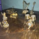 Μινιατούρες μουσικά όργανα Crystal Temptations Swarovski