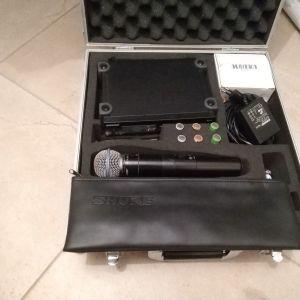 Πωλείται μεταχειρισμένο ασύρματο μικρόφωνο Shure SLX24/BETA58