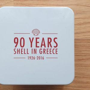 ΣΥΛΛΕΚΤΙΚΟ ΡΟΛΟΙ 90 YEARS SHELL IN GREECE  1926-2016