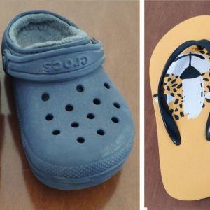Παιδικά  Παπουτσάκια   Χειμωνιάτικα  για Αγόρια και κορίτσια.   ΔΩΡΟ σαγιονάρες παιδικές