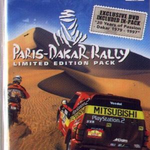 PARIS DAKAR RALLY LIMITED EDITION PACK - PS2