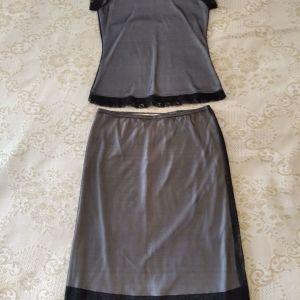 Lussile σετ τοπ & φούστα μίντι, medium