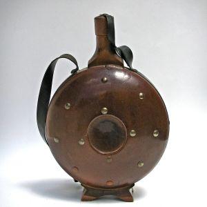 Τσότρα Παλαιό Φλασκί Παγούρι Παραδοσιακό Ξύλινο  Μεγάλο