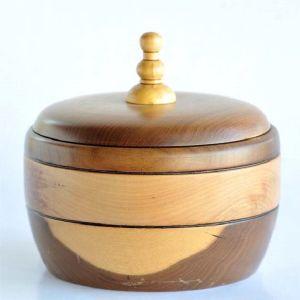 Φοντανιέρα, Αμερικάνικη Καρυδιά, Δύχρωμο ξύλο, Χειροποίητο Μοναδικό Συλλεκτικό Δώροο_10X17cm_0152