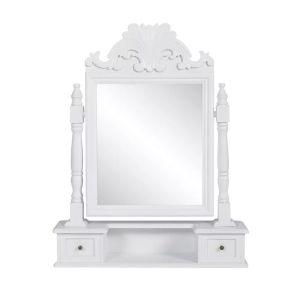 vidaXL Έπιπλο με Ορθογώνιο Ανακλινόμενο Καθρέφτη Μακιγιάζ από MDF-60628