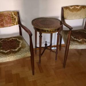 Καρέκλα με μπράτσα ξύλινη