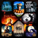 """""""Hallow's Films"""" Movie Magnets"""