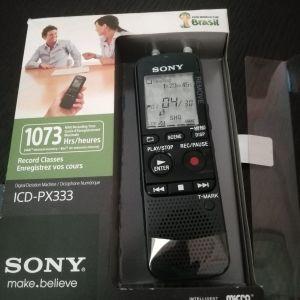 Δημοσιογραφικό εγγραφής Sony ICD-PX333