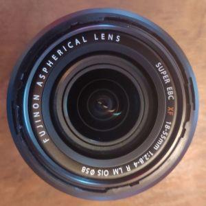 Fuji X φακοί : Fujinon 18-55mm & Samyang 12mm