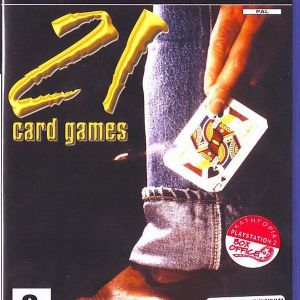 21 CARD GAMES - PS2
