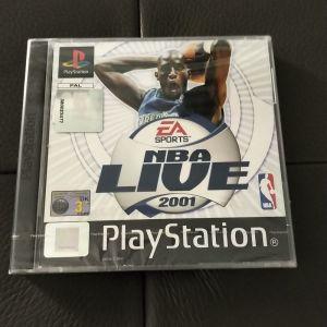 NBA LIVE 2001 SONY PLAYSTATION PS1 με ζελατινες καινουργιο
