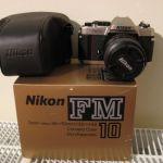 NIKON FM 10 Manual Focus