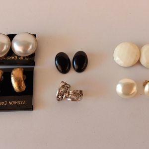 vintage σκουλαρίκια  δεκαετια 70 , 80 και 90