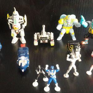 Mighty Morphin Power Rangers Micro Machines Dragonzord